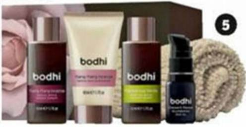 Description: Essential Skin Gift Set from Bodhi is an indulgent selection of bath, body and skincare therapies