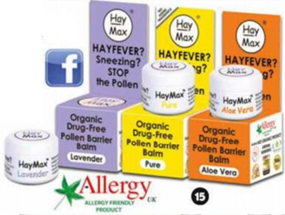 Description: Hayfever? Dust Or Pet Allergies?