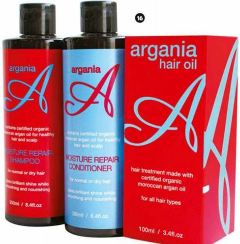 Description: We Love Argania Hair Products