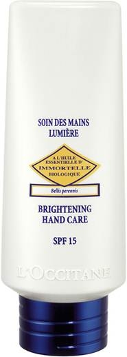 Description: L'Occitane immortelle hand cream