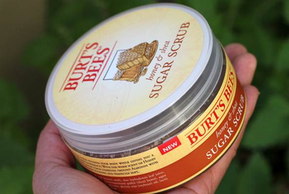 Description: Burt's Bees Honey & Shea Sugar Scrub