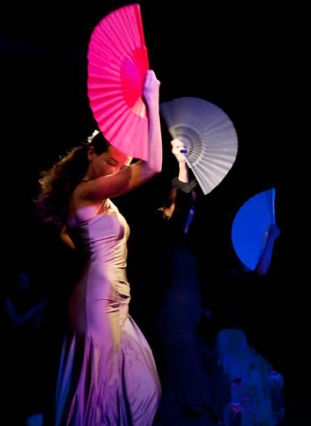 Description: 1. Flamenco at dance Attic