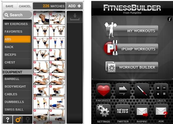 Description: Fitness Builder