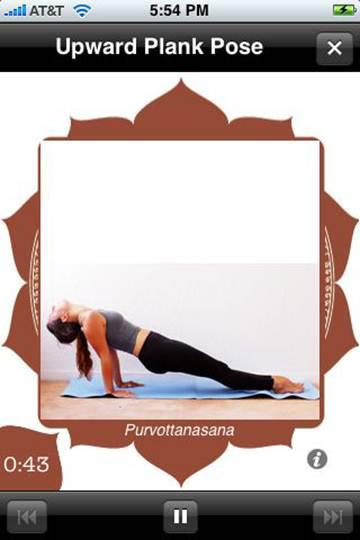 Description: Apple: Yoga Trainer Lite