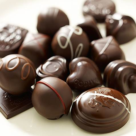 Description:  Chocolate, limit yourself to three because they're high in sugar