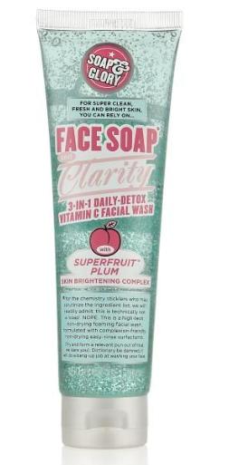 Description: Soap & Glory Face Soap and Clarity Facial Wash ($18)