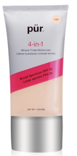 Description: Pur Minerals 4-in-1 Mineral Tinted Moisturizer ($37)
