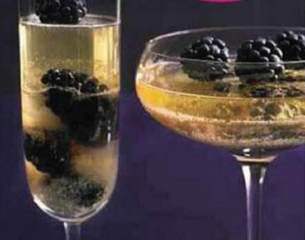 Description: Fresh blackberry and prosecco jelly