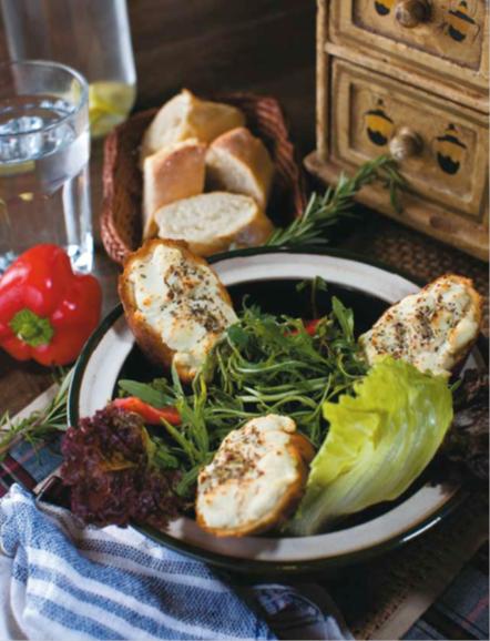 Description: Goat cheese salad