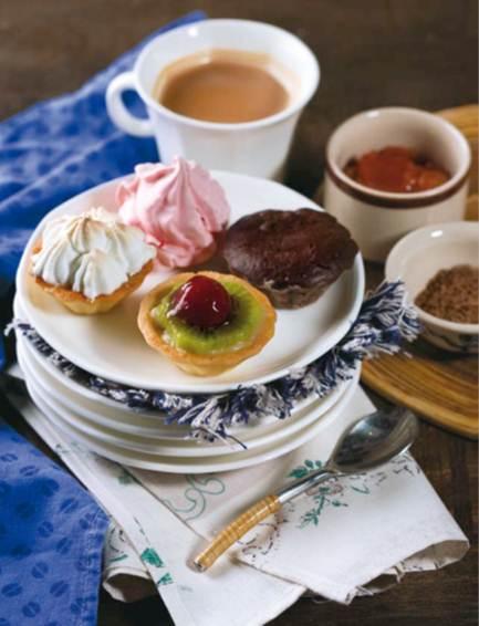 Description: Fruit tart