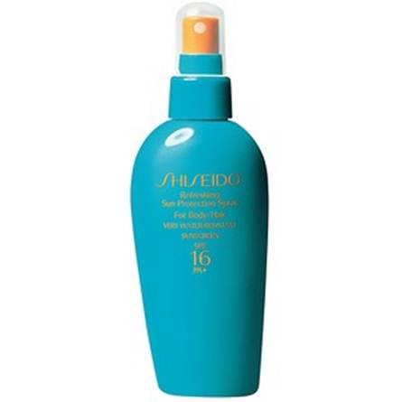 Description: Shiseido Sun Protection Spray SPF15.