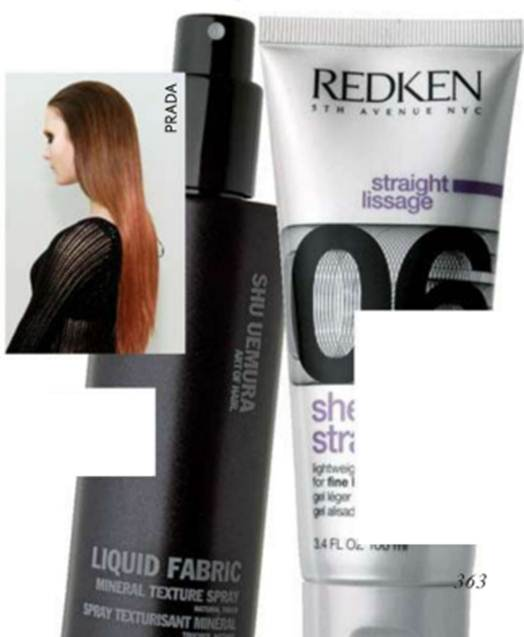 Description: Products are key to changing the composition and texture of hair