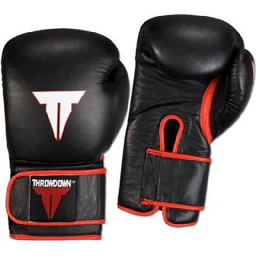 Description: If you'll be hitting a punching bag or sparring with a partner, you'll need gloves.