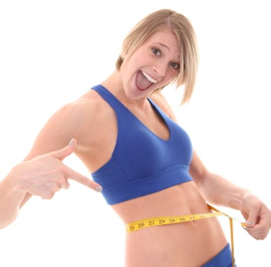 Description: The right diet and exercise… A winning combination!