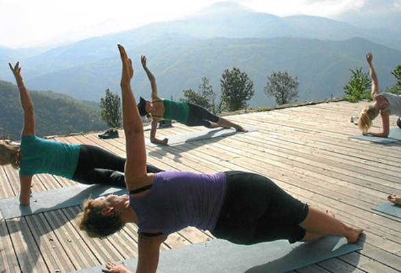 Description: Pilates In The Pyrenees