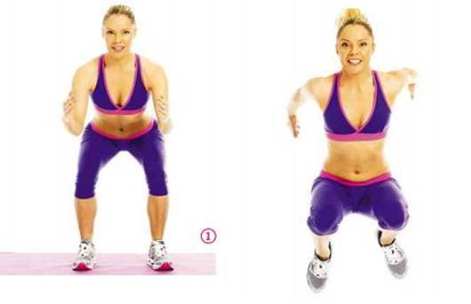 Description: Jumping squat