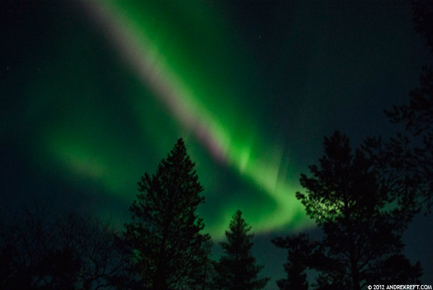 Description: The truly magical Northern Lights