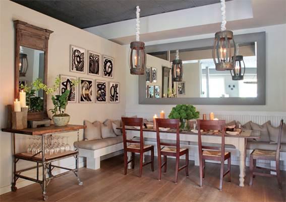 Description: Gabby Karan's Sag Harbor restaurant