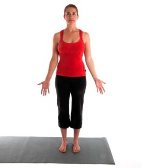 Your 10 Min Total Body, Yoga Workout Mountain Pose
