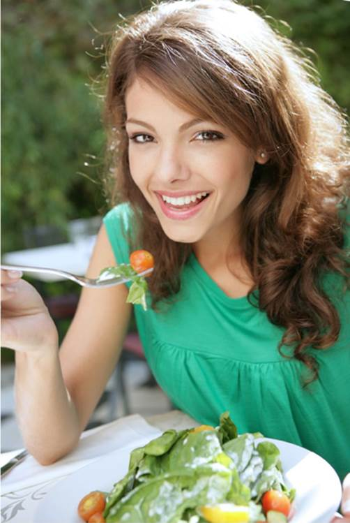plan meals well in advance and make sure you chew properly