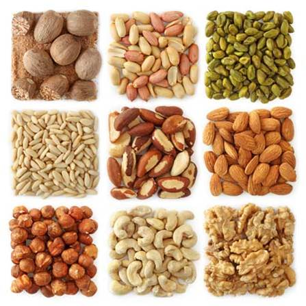 Eating kinds of seed is better than eating foods containing fat less.