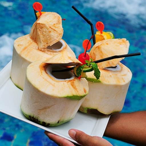 Coconut water is famous about the plentiful amount of electrolyte.