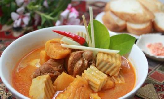 Coconut milk is the popular component in many dishes in Asia such as soup and curry.