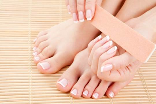 Your nails will develop 4 times faster than your toenails.
