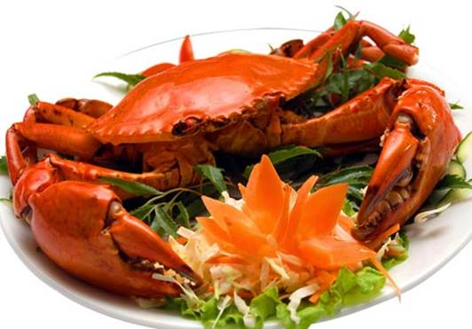 Pregnant women should avoid eating crab to avoid the risk of miscarriage.