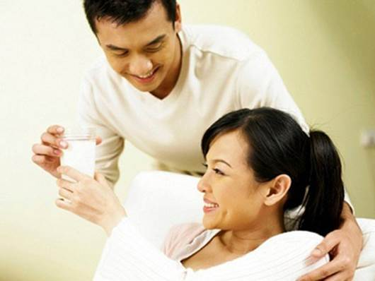 When you become pregnant, you will feel happy because your husband and relatives will care you more.