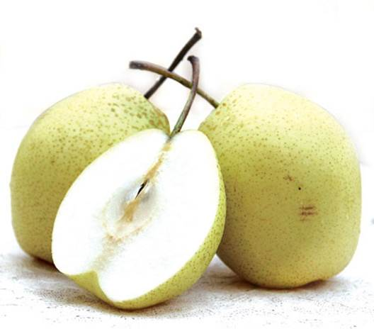 Pear can be used as water and nutrient supplements for people having fever.