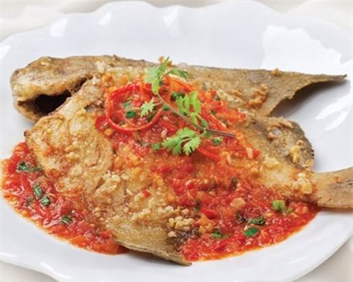 Fried fish and seafood stored overnight have the protein in them, changed.