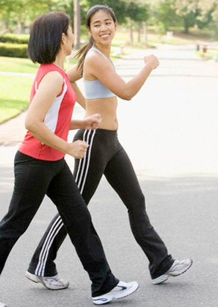 Walking usually help people feel better as it help release tiredness and make the body healthier.
