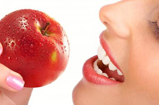 A part from sugary foods which can cause dental caries, there're foods that help prevent the problem.