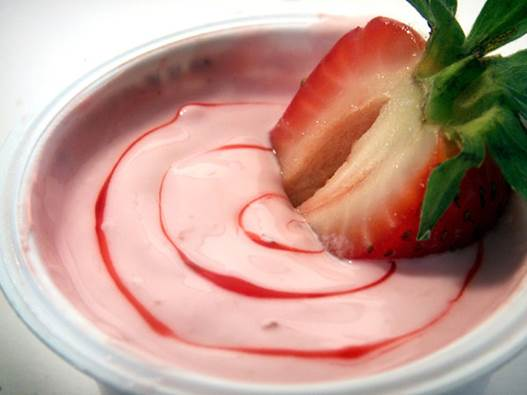Yogurt contains calcium and phosphorus which are the two essential nutrients for teeth mineralization.