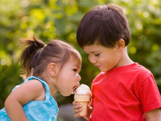 Children also easily get allergic to the additives in ice-cream.