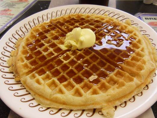 The waffles might include much of fat and oil, which is able to increase the content of cholesterol.
