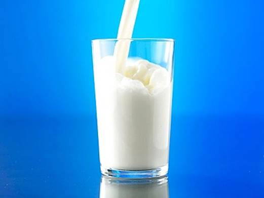 Milk is a source of lysine.