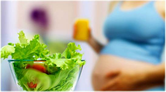 Women who have imbalance vegetarian diets during pregnancy can lead themselves to lacking necessary nutrients for fetuses.