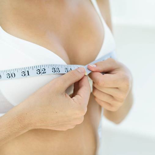 Yogurt can help increase the breast size.