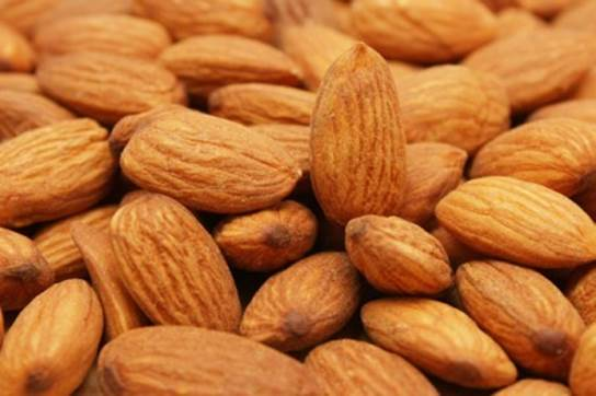 Almond is one of the foods that contain a lot of omega-3 fats.