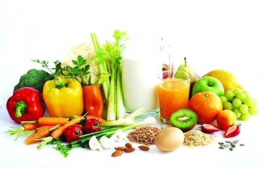 Eat plenty of fresh fruit and veg for vitamins, minerals, fiber and antioxidants