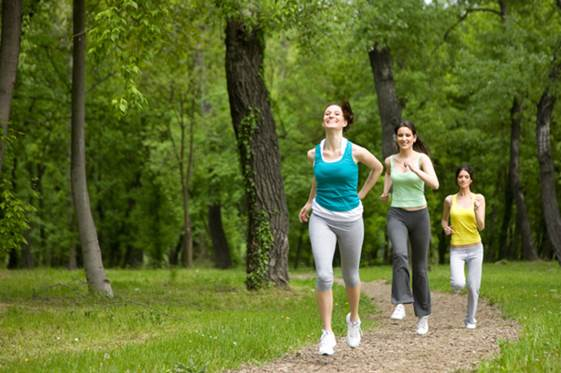Jogging is a good kind of exercises suitable to everybody.