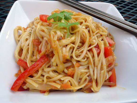 Healthy chow Mein