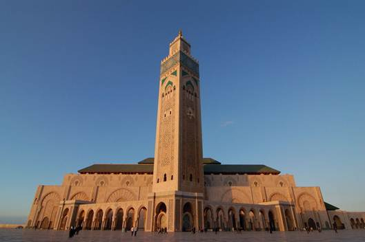 Description: The Kingdom of Morocco is a peaceful constitutional monarchy