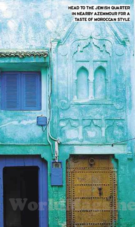 Description: Head to the Jewish quarter in nearby Azemmour for a taste of Moroccan style