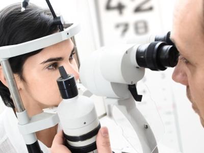 Description: eye exam