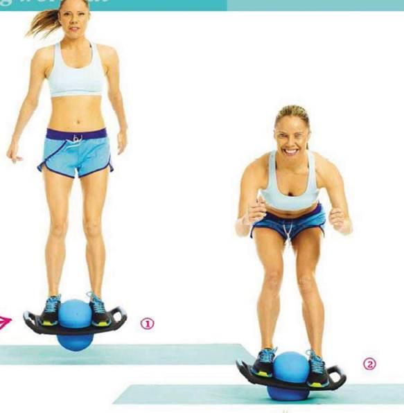 Description: Bounce and squat
