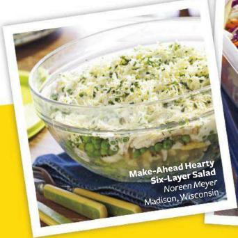 Description: Description: Description: Description: 6-layer salad