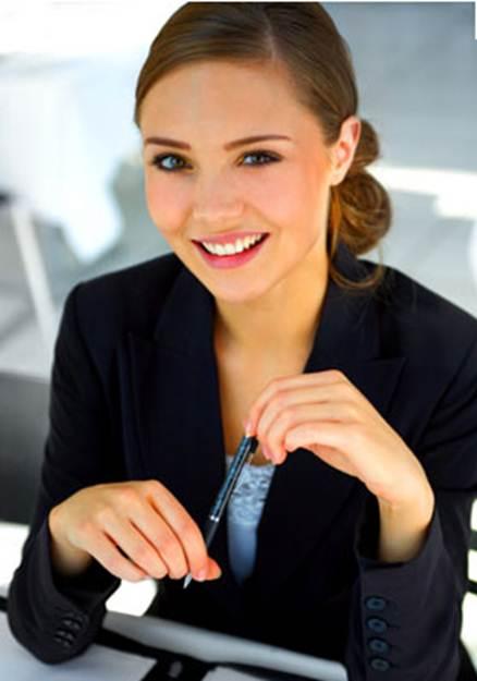 Деловые офисные девушки фото